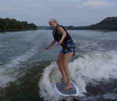 Lake Whitney Wakeboarding